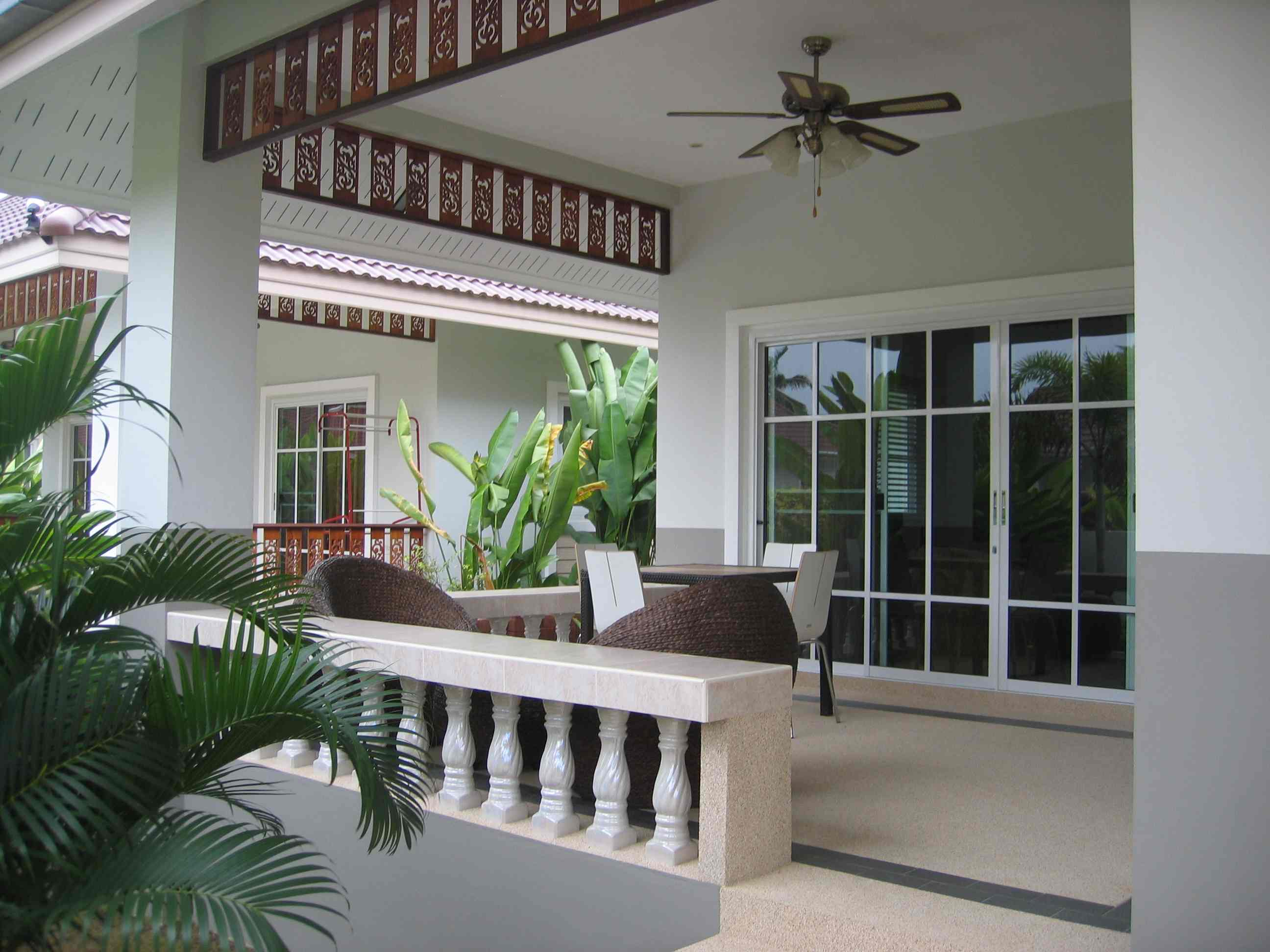 House for rent in hua hin for Terrace of house